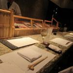 和食 浮橋 - カウンター