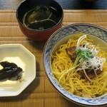 料亭・旅館 三川屋 - うな丼、肝吸い、奈良漬け