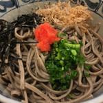 さの屋 - 天丼定食の蕎麦(冷)