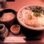 5641635 - 竹輪天ぶっかけ定食 794円