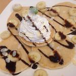 ハワイアン カフェ&バー ラウレラ - 料理写真:バナナのパンケーキ