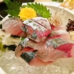 弥吉 - 生鯖のお造り