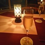シュール ラ メール - シャンパン