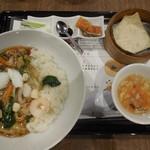 天津飯店 - 中華丼と北京ダックセット ¥1080-