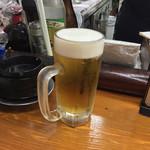 菊一 - 生ビール(650円)+8%