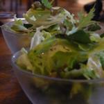 シエスタ - Aセットのサラダ