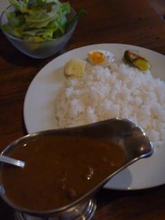 シエスタ - Aセットのシーフードカレー(1000円)