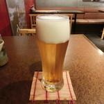 ハタハタ屋敷 - 久しぶりの昼ビール