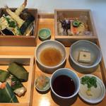 ゐざさ - 天ぷらセット