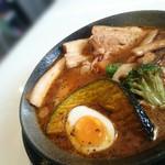 スープカリーベース ゲンバ - チキン+チャーシュー