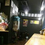 げんこつラーメン 民屋 - 店内