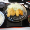 萬ち亭 - 料理写真:みっくすフライ定食