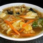 中華屋 光 - 広東麺