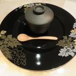 フレンチごはん 西麻布 GINA - 蛤のロワイヤル サマートリュフと枝豆1