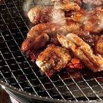 豆一 - 備長炭で焼く、本格炭火で七輪焼き☆
