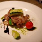 Maru - イベリコ豚の塩焼き(1580円)