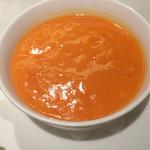 中国料理 桃花林 - かにの卵入りふかひれのスープ