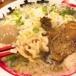 竹本商店 煮干センター アジト - 料理写真:おいしい煮干そば(塩)+味玉