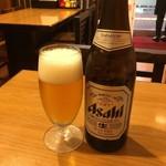 宮廷飯店 - 瓶ビール565円