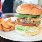 レッグオンダイナー - A.B.C burger@税込1,450円