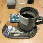 山小屋 佐藤 - ホットコーヒー2016.09.22
