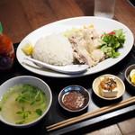think食堂 - カオマンガイプレート