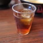華龍 白石亭 - 食後に冷たい烏龍茶はありがたい。   2016.09