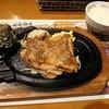 ブロンコビリー - 料理写真:◆炭焼きぱりぱりチキンステーキセット(スープ以外)