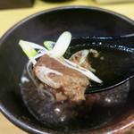 焼きそば専門店 寿座 - 牛すじスープも美味しい