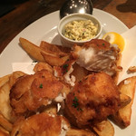 ブルックリンパーラー - カット。分厚い白身魚