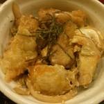 うどん土佐屋 - ミニ親子丼セット:750円+丼普通サイズ:100円(=850円)