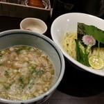 朧月 - 塩つけ麺(並)2016.9.20
