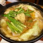 北浜 いしころ - 伊賀豚と野菜の生姜鍋