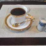 山辺スイーツカフェ - 石焼きコーヒー