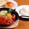 いただきハンバーグ  - 料理写真:いただきハンバーグ160gトマトソース