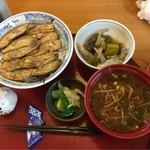 旬食健美  田しろ - いわしの蒲焼き丼 ¥882-