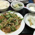 天津飯店 - 同僚の日替りS定食 650円