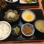 角打 - 牛鍋定食750円