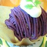 5644010 - 紫芋のモンブラン
