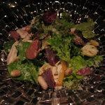 グットドール モンペルデュ - 砂肝・レバーのサラダ