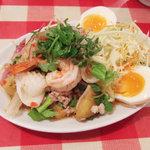 ティーヌン - ヤム・マクア:焼き茄子のサラダ(920円)