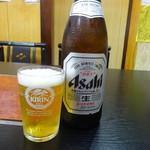 56441976 - 瓶ビール(中)(500円)