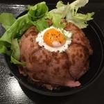 ご当地グルメ屋台 - ローストビーフ丼