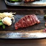 二平 日本橋人形町 - ステーキと野菜