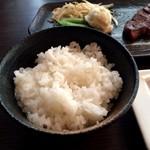二平 日本橋人形町 - ご飯