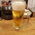 なにわもんゆうや - 生ビール280円