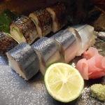 居酒屋たちばな - これがイチオシの秋刀魚寿司