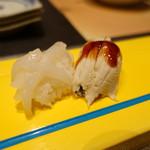 金鮓 - イカと穴子