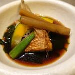 金鮓 - 鯛の煮付け