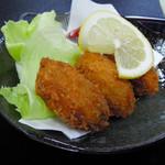 瑞幸 - どデカ牡蠣フライ